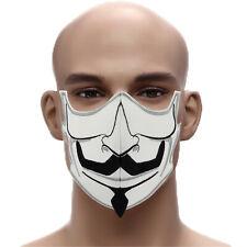 Anonymus Schnurrbart 60° waschbar Mehrweg Schutzmaske Herren Mundschutz Gesicht
