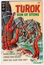 Gold Key TUROK SON OF STONE #70 July 1970 Vintage Comic