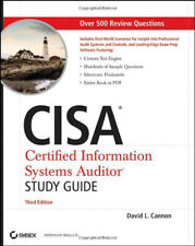 Cisa Certified Information Systems Auditor Study Guide by David L Cannon