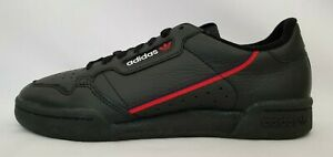 Mens Size 6.5 Black Adidas Continental 80 Originals Casual Leather Shoes B41672