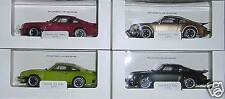 Porsche 911 turbo 1975-set en 4 colores-WELLY 1:24 museo Edition-fabricacion nueva