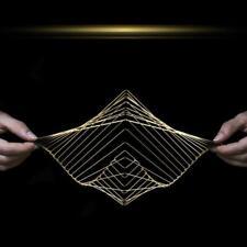 Onda cuadrada escultura cinética-Hecho en Italia-diseñado en el Reino Unido por Ivan Negro (1)