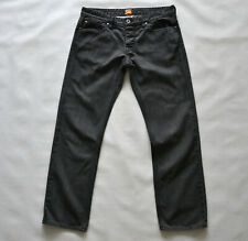 BOSS ORANGE Mens Jeans Herren Jeans Gr. W34 L30 black rigid