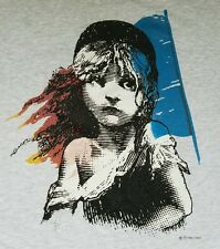 Les Miserables London 1986 West End Musical T shirt Broadway Opera  XL