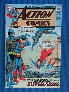 ACTION COMICS # 392 - (VF-) -SUPERMAN -BATMAN-SHAME OF SUPERMAN'S SON