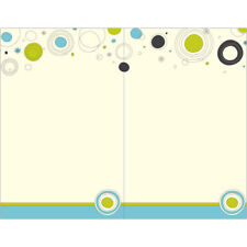 Great Papers! 20 Invitations, 2-Up Invitations, Fits A9 Envelopes, Ivory Dots