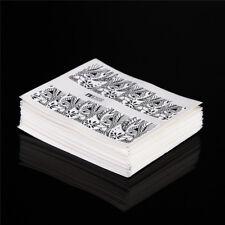 48pcs Set Nail Art Water Decals Transfers Stickers Waves Geometric patterns