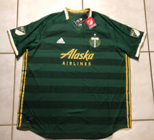 NWT ADIDAS CLIMACOOL Portland Timbers MLS   2019 Jersey Men's 3XL