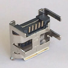 Micro USB Connector Jack 5pin SMT Tail revertido socket PCB Board Acer y Lenovo