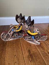 2 Shade Tree Creations Bill Vernon Cowboy Biker Motorcycle