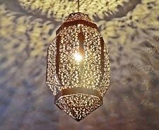 COPPER MOROCCAN CHIC ORNATE CHANDELIER PENDANT LIGHT SHABBY LAMP SHADE LANTERN
