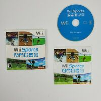 Wii Sports 2006 Nintendo Wii Classic Game Complete With Manual Free Shipping