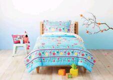 Pillowfort Floral Fiesta ~ Full / Queen ~ Comforter Set ~ Glazed Turquoise Pink
