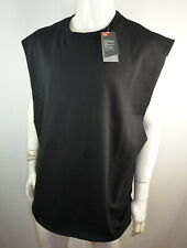 Under Armour UA Men's L/XL Sleeveless Tank Black Big Logo NWT $90