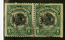 Panama Stamps # 526 Xf 1/3 Seperatco Pair From Booklet