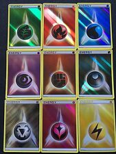 Pokemon TCG : 9 Reverse Holo Promo Energy Cards (1 of each kind!)