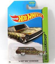 64 Chevy Nova Station Wagon Hot Wheels Super Treasure Hunt 1:64 Scale Toy Car