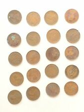 19c lot of twenty british india king george vi coins one quater anna