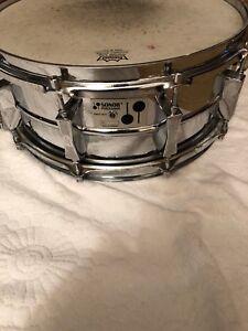 "Sonor D-505 Phonic Snare Drum 5.75 x 14"" Ferromanganese D505"