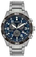 Citizen Eco-Drive Men's Brycen Titanium Chronograph Band 43mm Watch BL5558-58L