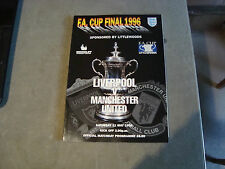 Liverpool v Manchester United 1996 FA Cup Final