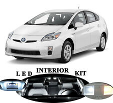LED Package - Interior + License Plate + Vanity for Toyota Prius (13 pieces)