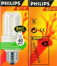Philips GENIE Kompaktleuchtstofflampe 8Watt (40W) 827 220V E27 420L Saver - OVP
