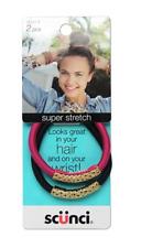 Scunci - Super Stretch - Pink & Black 20551-T
