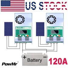 MPPT 50A 60A 80A 100A 120A Solar Charge Controller For DC12V 24V 36V 48V PV 150V