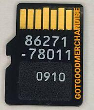 2014 2015 2016 LEXUS NAVIGATION MICRO SD CARD GPS MAP OEM 86271-78011 FACTORY