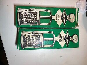 VTG Garvey Supreme 5 band Price Marker 185 Grocery Store Ink Stamper Never Used