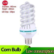 M01516 Bright Spiral Led Corn Light Bulb 32W 220V E27 3000 Lumens Warm White DWS