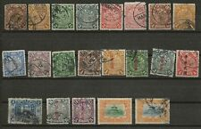 CHINA COLLECTION VERY OLD USED STAMPS MANY DRAGONS