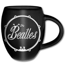 The Beatles - Drum Logo Sculptured Mug - New & Official Apple Corps In Box