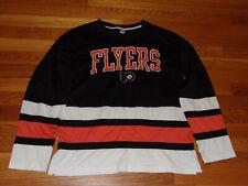 Nhl Philadelphia Flyers Hockey Long Sleeve T-Shirt Mens Large Excellent