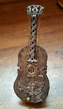 Vintage Sterling Silver Netafim Besamim Havdalah Guitar Spice Box