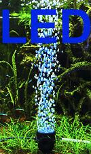 1A Aquarium Deko ❤️ LED SPRUDLER BLAU ❤️ Dekoration Zubehör Ausströmerstein