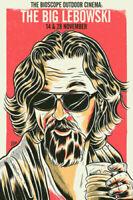 Z-259 The Big Lebowski Jeff Bridges Classic Movie Vintage Art Silk Poster Custom
