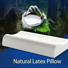 2x 100% NATURAL LATEX PILLOW With Corduroy Cover - Great For Sensitive Skin