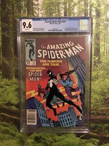 Amazing Spider-Man #252 CGC 9.6 Newsstand White Pages 🔑🔥🔥