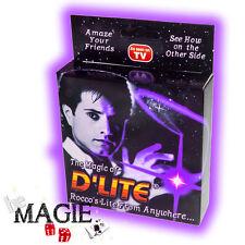 2 x D'lite VIOLET (1 Paire) - Faux pouce Lumineux - Ghost light - Tour de Magie
