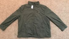Polo Ralph Lauren Big & Tall Brown Green Jacket 3XLT NWT Fleece Lined MSRP $198