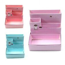 Lovely Paper Board Storage Box Desk Decor Random Color Stationery Makeup Case