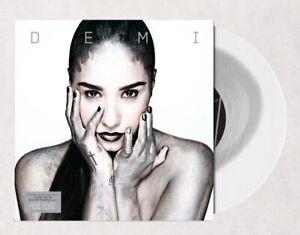 Demi Lovato Demi clear with silver puddle vinyl (vinyle transparent argenté) USA