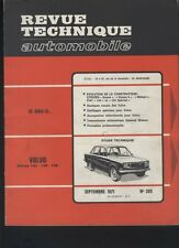 (169A) Revue technique automobile VOLVO 142 144 145 / Dyane Méhari / Fiat 124