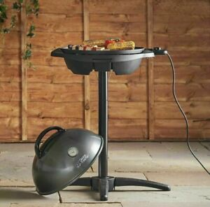 George Foreman BBQ Grill Electric Grill Non-Stick Barbecue Indoor/Outdoor Grill