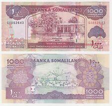 Somalilandia 1000 chelines 2015 P-20d UNC Uncirculated banknote Puerto Barco