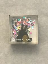 Camp Ottari Square Bear Snow Globe