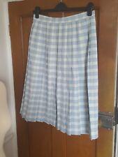 "Vintage St. Michael Marks & Spencer señoras falda escocesa kilt/Talla 18 (""14/16)"