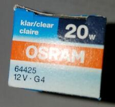 OSRAM BRL 64425 HLX 20w 12v BIPIN HALOGEN LIGHT BULB